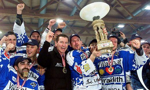 Uniqa Eishockey Liga, Black Wings Linz vs VSV Villach
