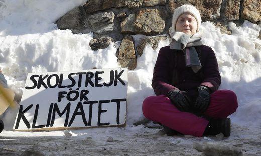 Greta Thunberg macht es vor - viel Schüler folgen ihr in den Klimastreik