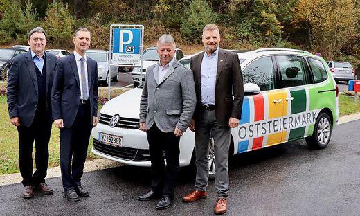 Neuer Park & Ride-Parkplatz in St. Johann in der Haide