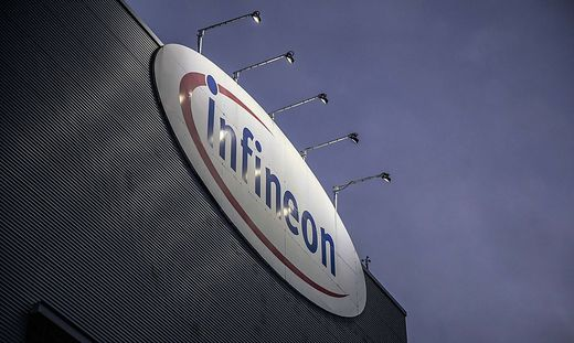 Das Infineon-Werk in Villach