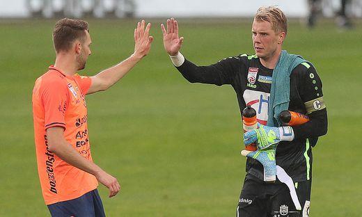 Rene Swete und Thomas Rotter jubelten über den Sieg