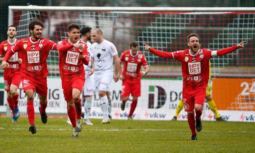 SOCCER - 2. Liga, Dornbirn vs GAK