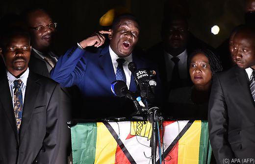 Simbabwe Robert Mugabe erklärt Rücktritt als Präsident
