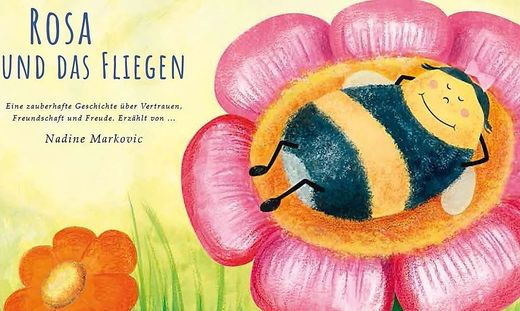 Nadine Markovic   Rosa und das Fliegen   Eigenverlag   16 Seiten   10 Euro
