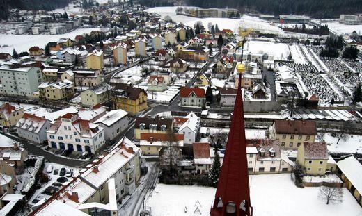 Stadt Koeflach, Winter