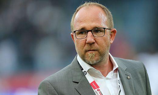 Sturm-Geschäftsführer Günter Kreissl