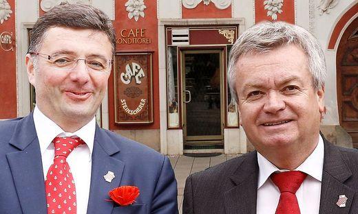 Jörg Leichtfried und Anton Lang
