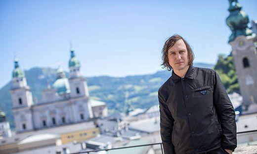 SALZBUGER FESTSPIELE: TERRASSENTALK 'JEDERMANN' - EIDINGER