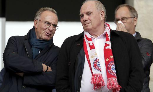 Karl-Heinz Rummenigge und Uli Hoeneß