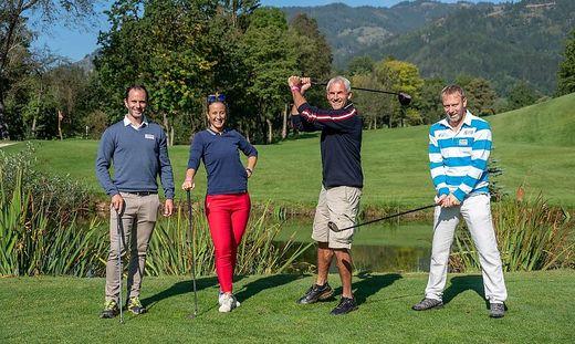 Ski-Stars Philipp Schörghofer und Michaela Kirchgasser, Ex-Fußballspieler Michael Konsel und Tennisspieler Stefan Koubek.