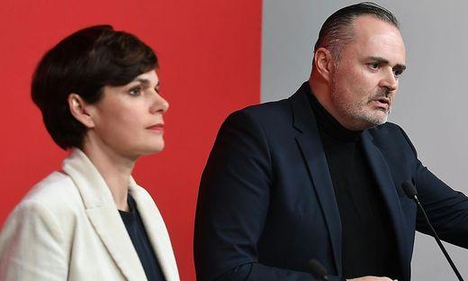 Bleibt Pamela Rendi-Wagner an der Spitze? Hans-Peter Doskozil urgierte die baldige Veröffentlichung des Ergebnisses der Mitgliederbefragung