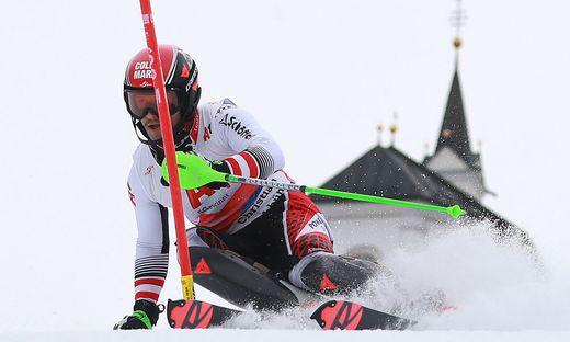 ALPINE SKIING - OESV, slalom training