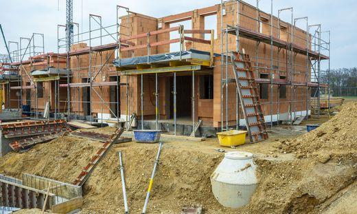 Am Bau stiegen die Preise zuletzt teils exorbitant