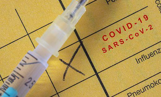 Impfpass, Corona