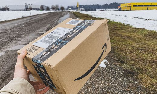 zukünftiges Amazon Lager nähe Magna Klagenfurt Februar 2021