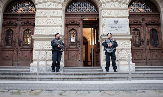 Dauerpräsenz: Schon 13 Verhandlungstage verbrachten die Geschworenen beim Jihadisten-Prozess am Straflandesgericht in Graz