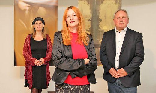 Barbara Ambrusch-Rapp, Eva Asaad, Dietmar Piskernik (von links)