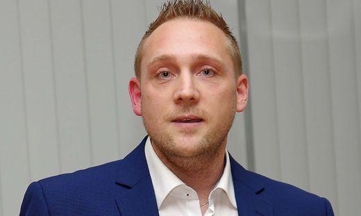 """Praktikant"" Roman Mühl"