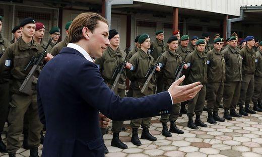 Kurz im Kosovo