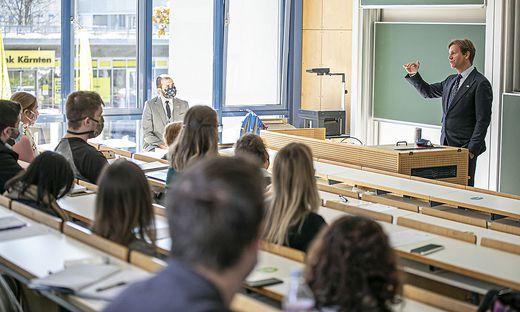 US Ambassador Trevor D. Traina Universitaet Klagenfurt Oktober 2020