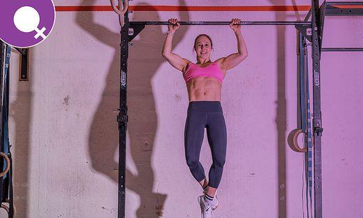Anna Prattes ist Crossfitterin und Staatsmeisterin im Gewichtheben