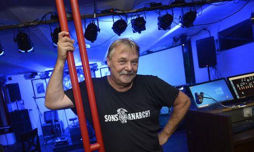 Wolfgang Mauchler führt den Soundclub.
