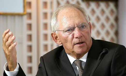 GIPFEL DER DEUTSCHSPRACHIGEN FINANZMINISTER IN SALZBURG: SCHAeUBLE