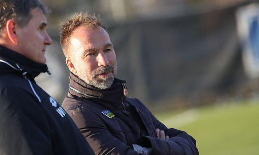 Sturm-Trainer Roman Mählich