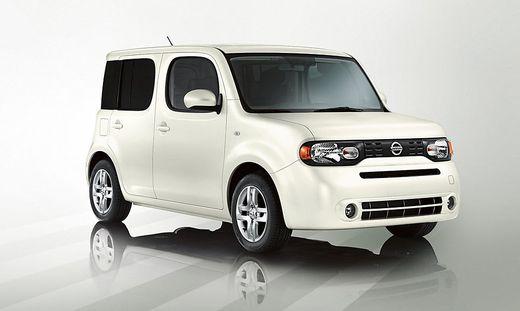 2008 bis 2011: Der Nissan Cube hielt sich nur kurz in Europa