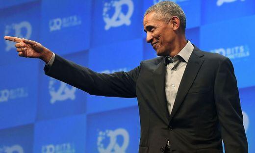 Barack Obama bei Gründer-Treffen in München - Startseite