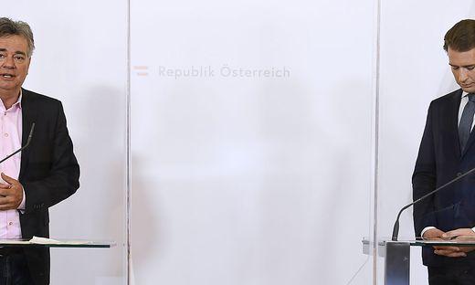 MINISTERRAT: KURZ/KOGLER