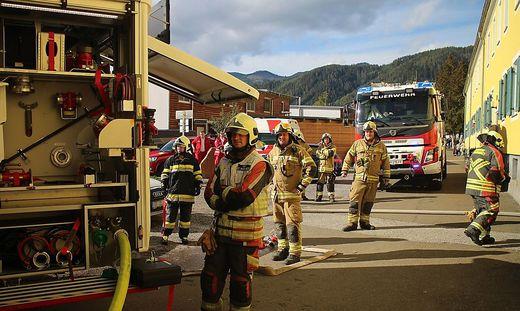 15 Feuerwehrmänner waren in St. Marein im Einsatz