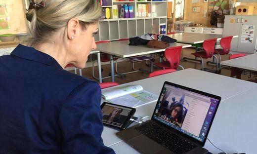 E-Learning Videokonferenz Schule Viktor-Kaplan Graz