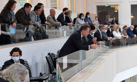 Galerie des Parlaments: Die SPÖ macht Stimmung, blockiert aber nicht
