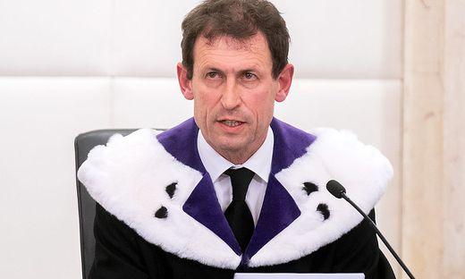 Verfassungsgerichtshof-Präsident Christoph Grabenwarter