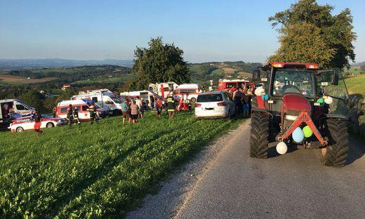 Bei dem Unfall am frühen Abend des 8. September 2018 war der Anhänger auf der Landesstraße zwischen Allhartsberg und Sonntagberg umgestürzt