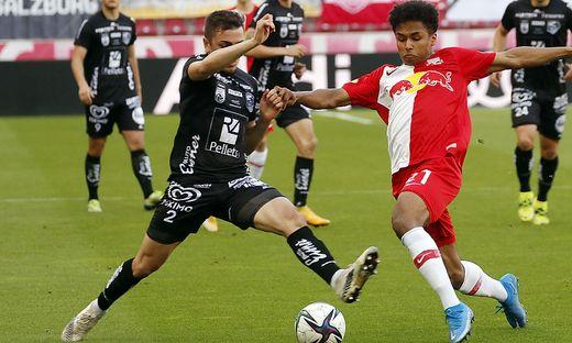 FUSSBALL: TIPICO BUNDESLIGA / MEISTERGRUPPE: RED BULL SALZBURG - RZ PELLETS WAC