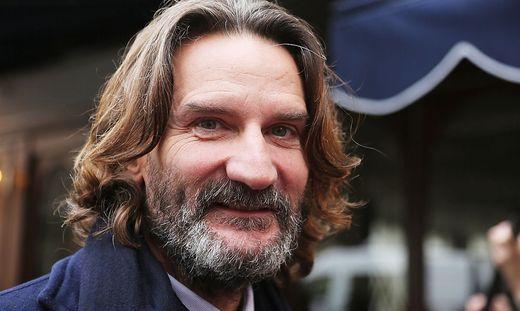 Der französische Schriftsteller Frédéric Beigbeder