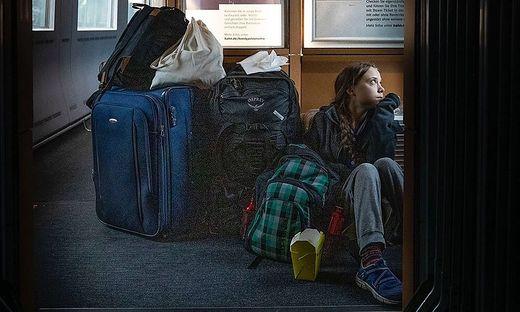 Einer der Züge, in dem Greta auf dem Boden sitzen musste