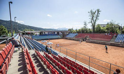 Werzer Arena Tennisarena Tennis Pörtschach Mai 2017