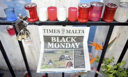 Trauer in Malta
