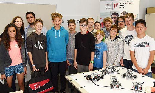 Schon letztes Jahr lockte das Robo-Camp zahlreiche Neugierige