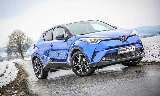 Im Test Wie Sich Der Toyota C Hr Im Dauerlauf Schlagt