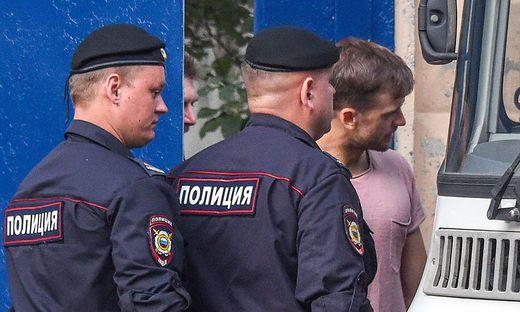 Russland: Pussy-Riot-Flitzer nach Arrest-Entlassung wieder verhaftet