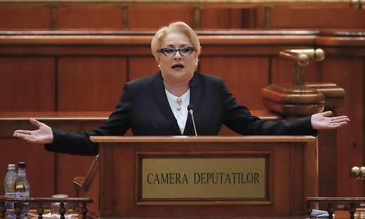 Ministerpräsidentin Vasilica Viorica Dancila