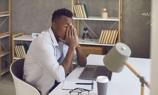 Die Bedingungen des Home-Office können auch zu Überlastung führen