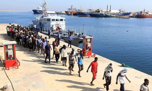 Derzeit versucht Europa über Libyen, Migranten vom Aufbruch nach Norden abzuhalten