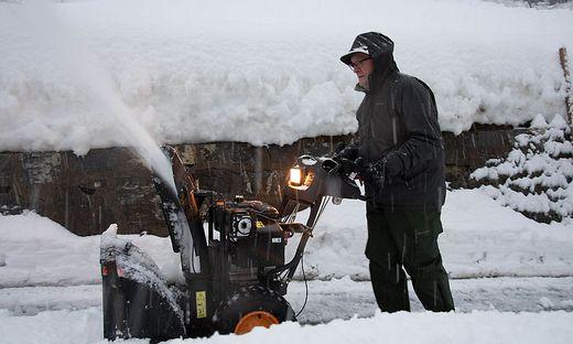 Weiterhin starker Schneefall in weiten Teilen Oberkärntens