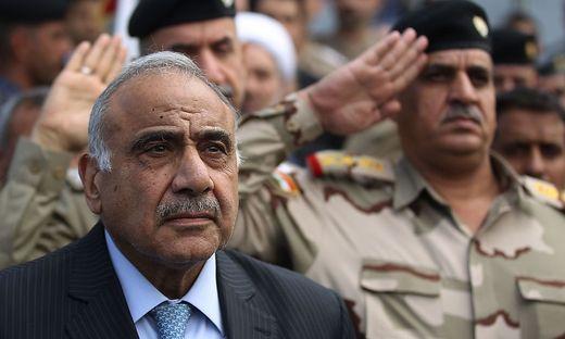 FILES-IRAQ-POLITICS-ABDEL MAHDI