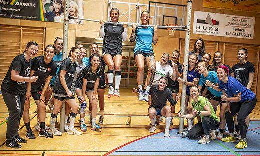 Die SC witasek Ferlach/Feldkirchen-Damen haben heuer wieder einiges vor. Ziel ist das Erreichen der Top 4